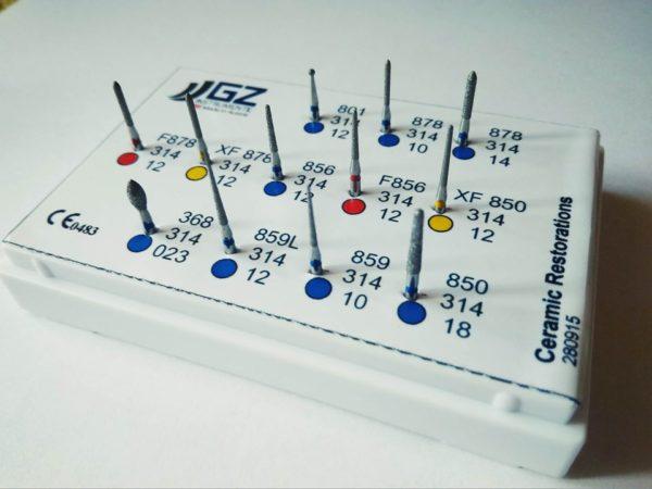 set rotačních nástrojů